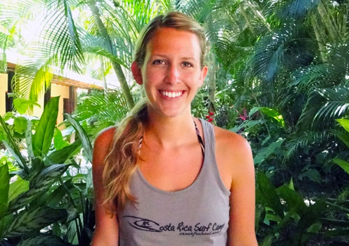 Meet Costa Rica Surf Camp Owner Kaitlin