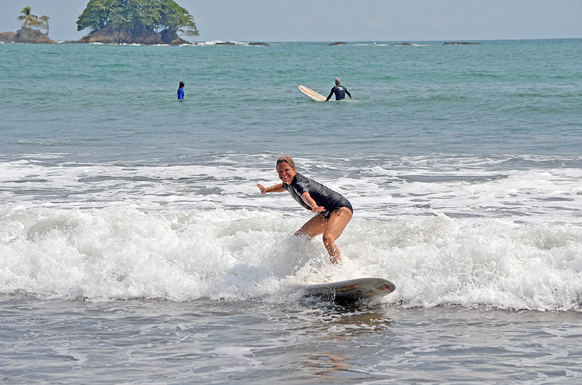 Learn to surf with Costa Rica Surf Camp
