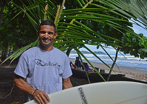 Costa Rica Surf Camp instructor