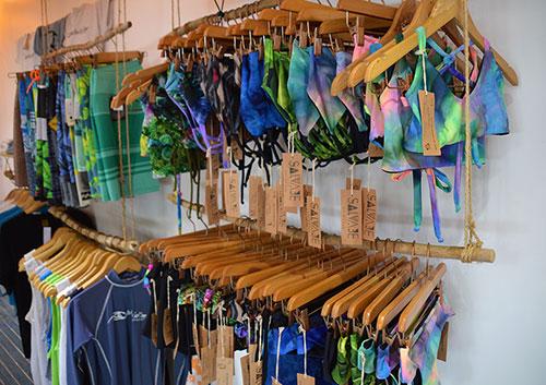 Surf Shop Swimwear and boardshorts