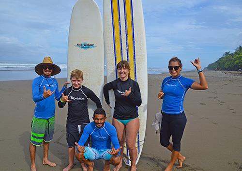 Family Beginner Surf Lessons