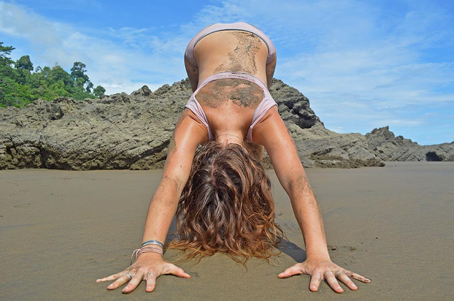 Surf and Yoga on the Beach in Playa Dominical