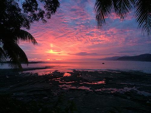 Amazing Costa Rica Sunset